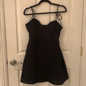 New Tie Mini Dress